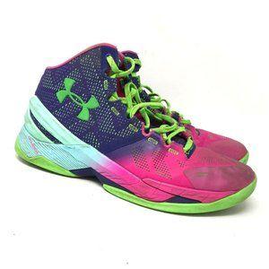 Under Armour Mens Purple Athletic Shoes Size 10.5
